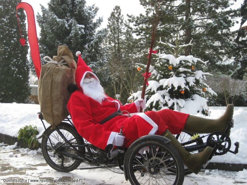 Welche tollen Geschenkideen für Radfahrer dieser Nikolaus wohl hatte?!